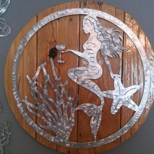 Just Fish Metal Art