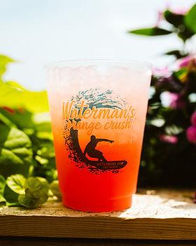 Waterman's drink menu
