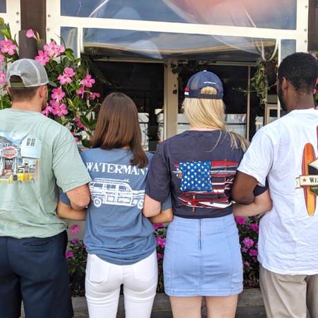 Waterman's T-Shirts Back