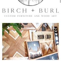 Birch and Burl