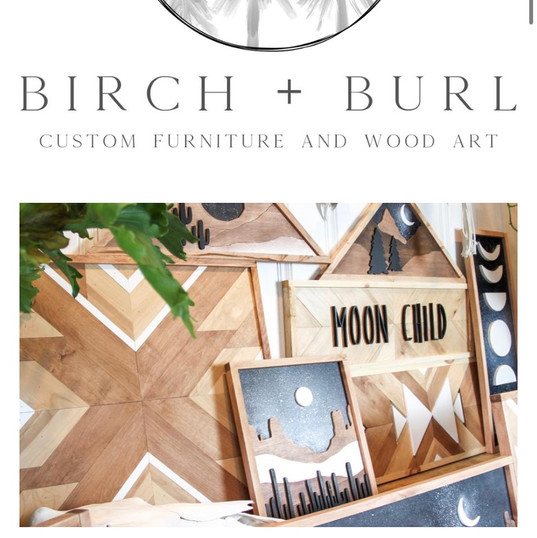 Birch and Burl