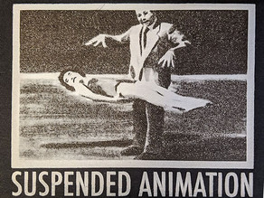 Suspended Animation T-Shirt Design