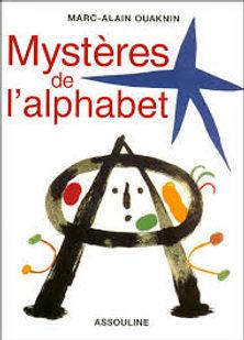 Mystère de l'alphabet,