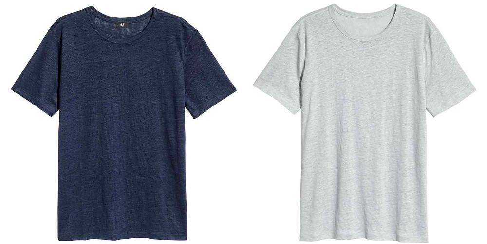 T-shirts en lin