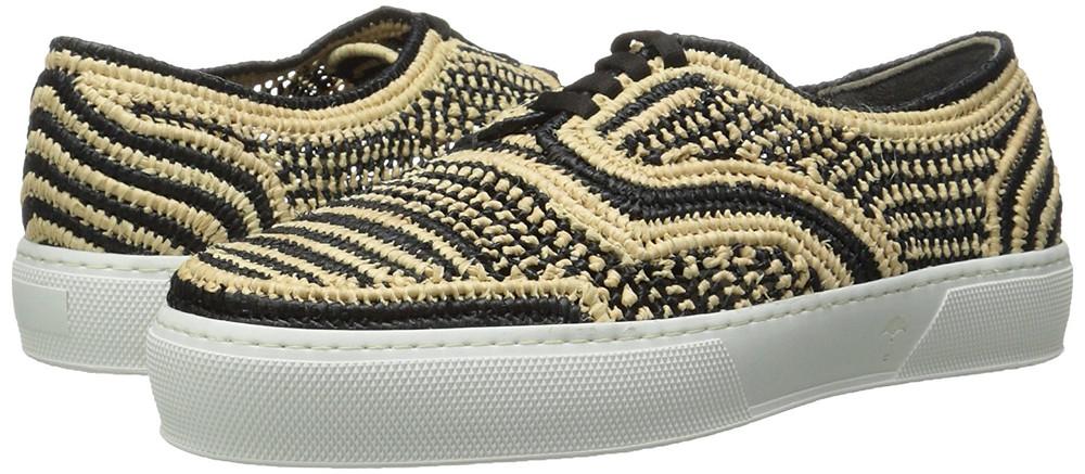 Sneakers en Raphia
