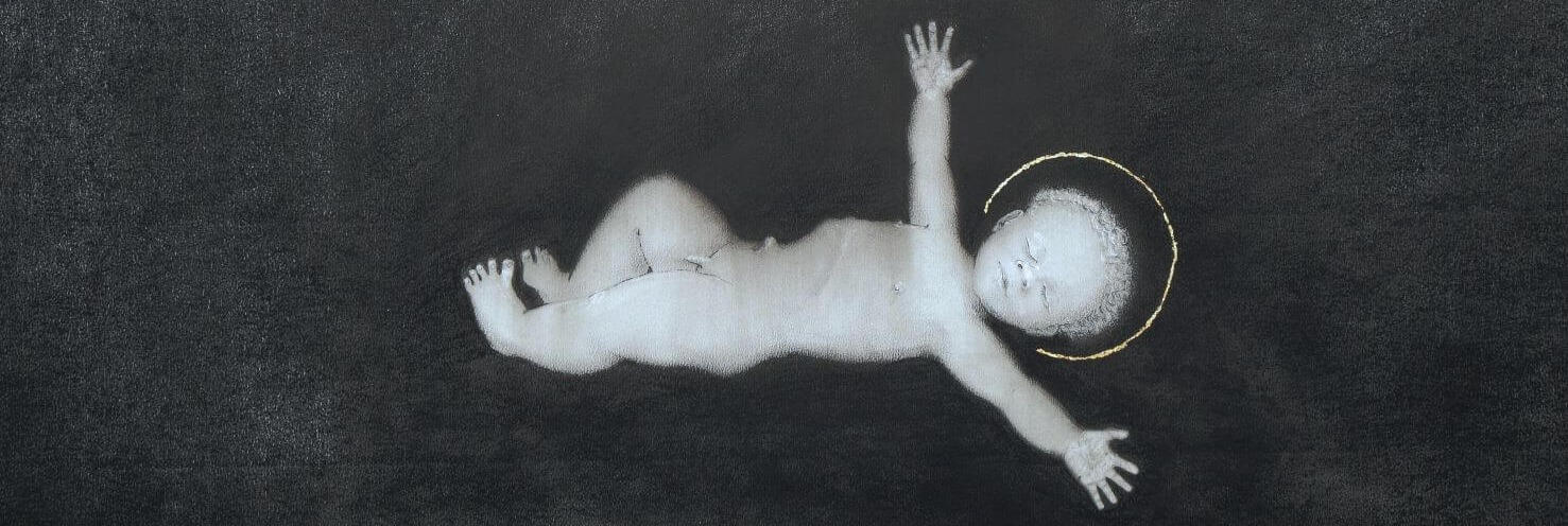 Detail. Jesus.Naivety. Drawings. Pete Codling