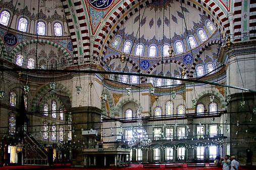 La Mosquée Bleue ou mosquée Sultanahmet