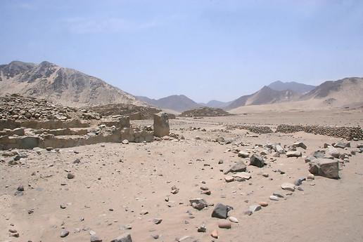 Site archéologique de Caral 005