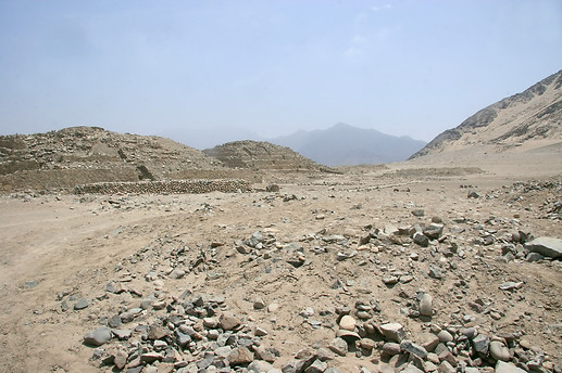 Site archéologique de Caral 009