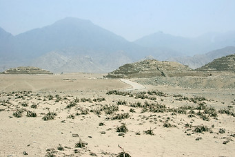 Site archéologique de Caral 008