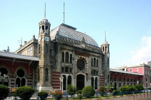 La gare de Sirkeci, terminus de l'Orient Express