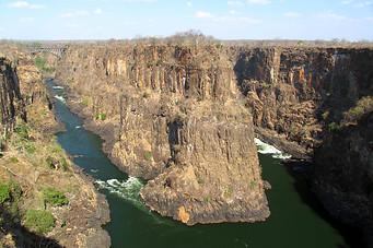 Chutes Victoria & fleuve Zambèze 012