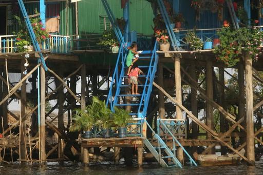 Lac Tonle Sap (Cambodge)