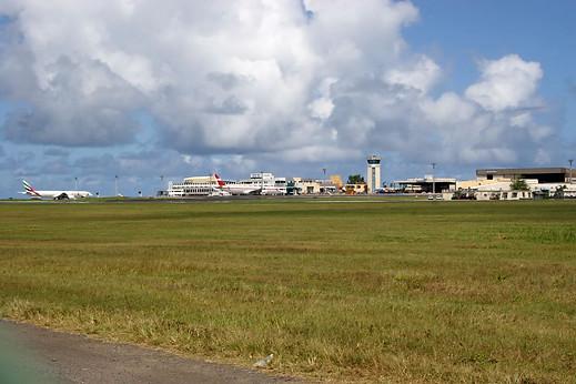 Arrivée à l'aéroport international Sir Seewoosagur Ramgoolam