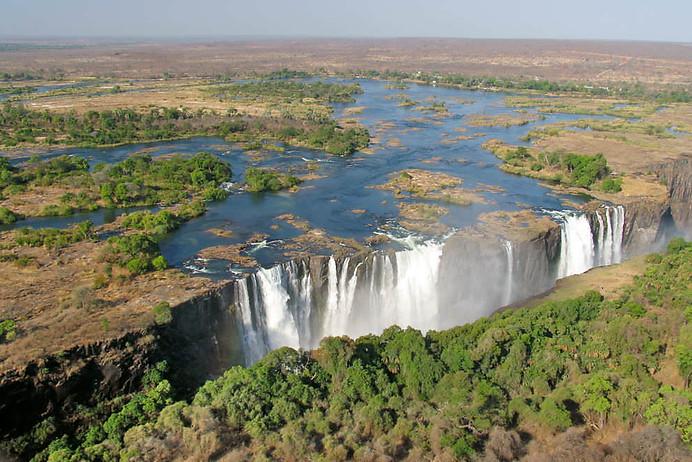Chutes Victoria & fleuve Zambèze 011