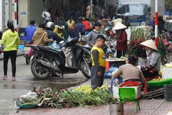 Marché de Ha Long, Vietnam