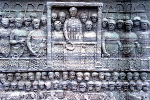 Bas-relief du piedestal de l'obélisque de Théodose