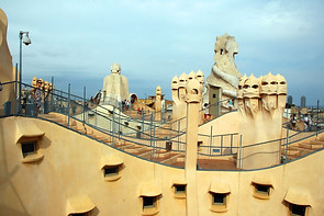 Casa Mila (Barcelone) 012