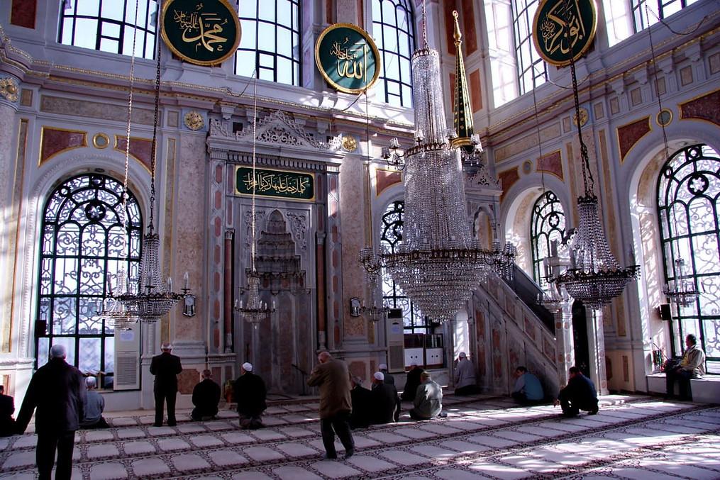 La mosquée d'Ortaköy