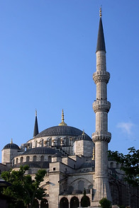 La Mosquée Bleue ou ou mosquée Sultanahmet