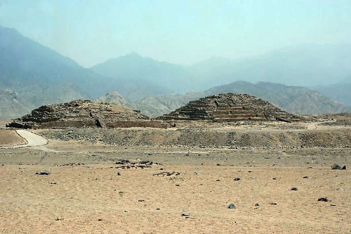 Site archéologique de Caral 016