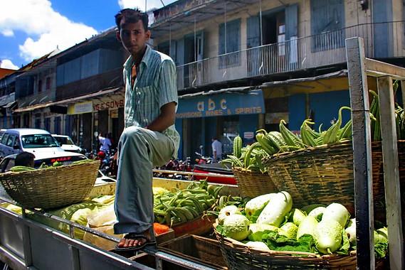Marché de Port-Louis (Maurice)