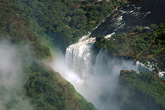 Chutes Victoria & fleuve Zambèze 007