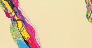 Color Phantasmagoria 2012 150x50cm oil on canvas