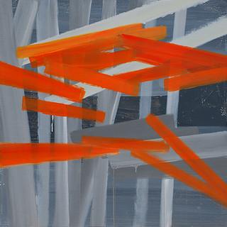 201410 2014 90x90cm acrylic and oil on canvas