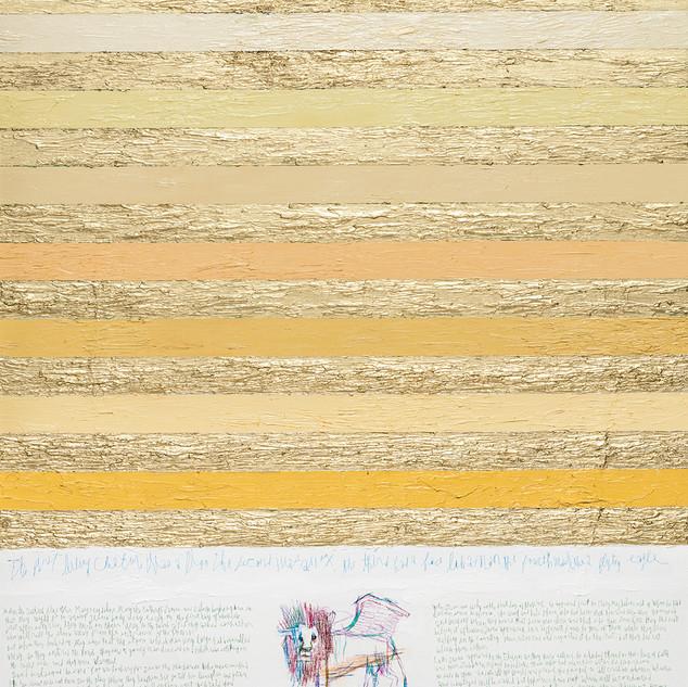 Mark The Evangelist 2017 116.8x91cm oil on canvas