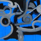 201421 2014 90x90cm  acrylic and oil canvas