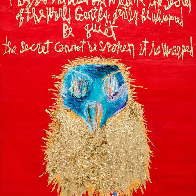 Secret 2017 116.8x91cm oil on canvas