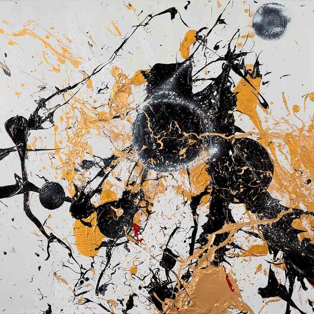 Light My Fire I 2017 97x130cm acrylic on canvas
