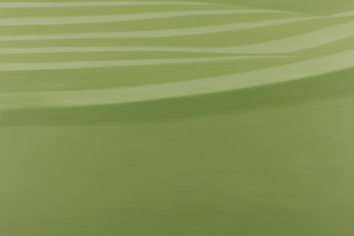 green 2012 70x145.5cm oil on canvas