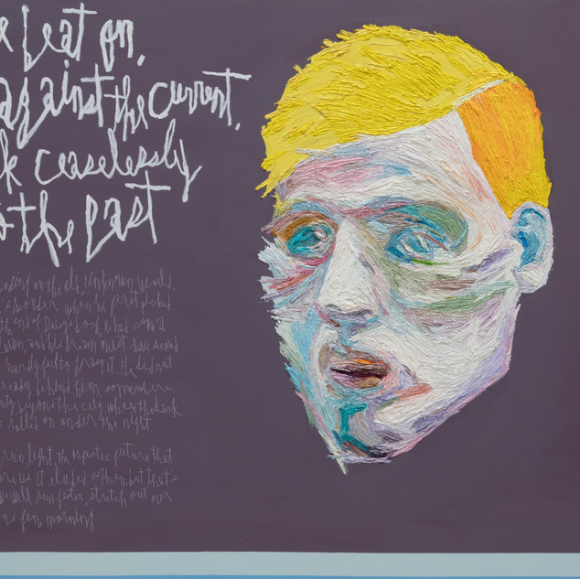Gatsby oil on canvas 130.3x162.2cm 2019