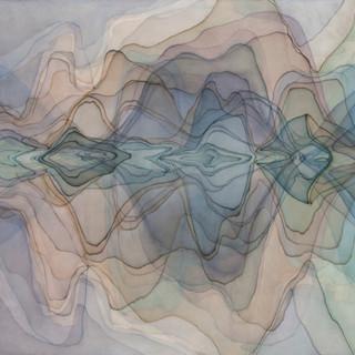 아직도 강촌에 가면 안개를 볼 수 있을까 2012 97x109cm oil on canvas, anti-uv varnish