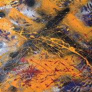 New Music to Play 2011 89x116cm acrylic on canvas