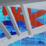 201415 2014 90x90cm  acrylic and oil canvas