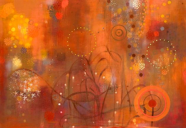 In Full Bloom-fall 137x96cm oil on canvas 2008.jpg