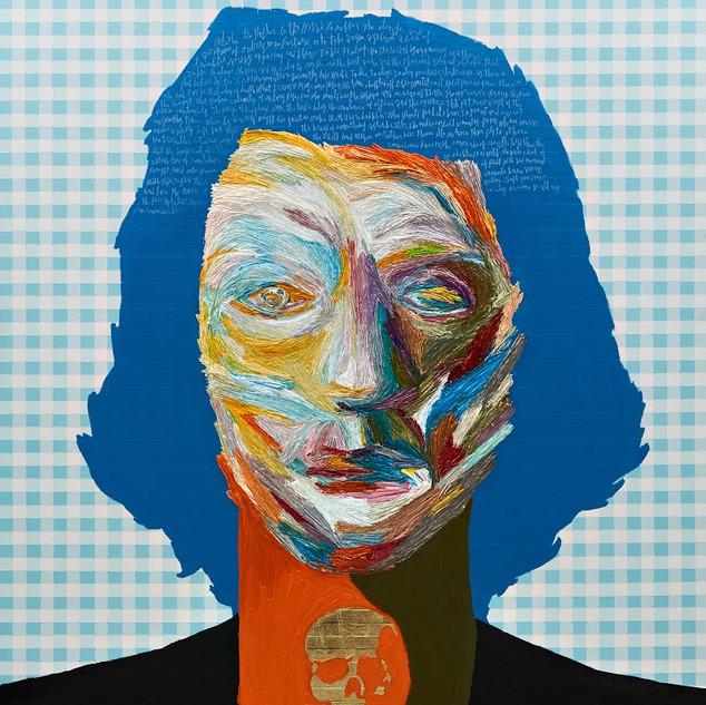 Hamlet oil on canvas 162.2x130.3cm 2019