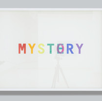 My Story Is Mystery 62.3 x 82.4 x 4cm Lacquer, acrylic spray paint, paper 2019