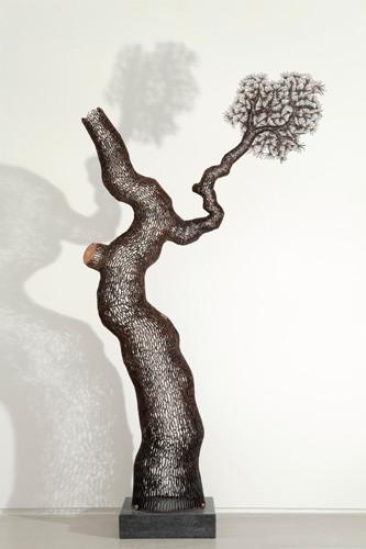 소나무 2012 Pine Tree 2012 2012 115x59x204cm  동파이프 산소용접 copper welding