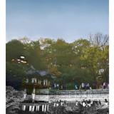 창덕궁 Chang Deok Goong 부분2 2010 95x127cm x3EA Lambda Print
