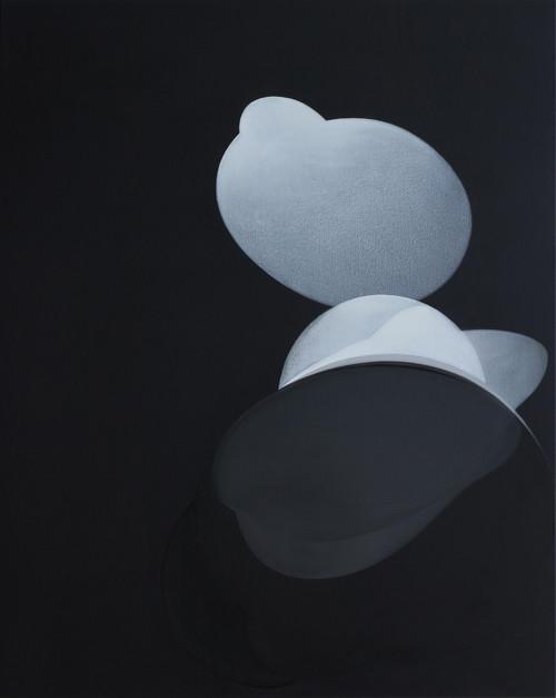Invisible hands#6 (dark grey) 2012 120x150cm acrylic &mixed media on canvas