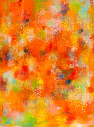 Spritoso 07 춤추는 석양 2011 244x182cm oil on canvas