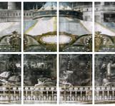 The universe (전체) 2012 645x202cm handcolouring over an aquatint