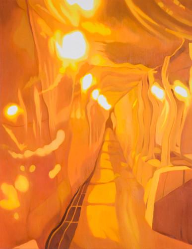Beyoud 2010 116.7x91cm oil on canvas