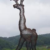 동물나무 2012-2 (2_야외풍경) 2012 150x230x87cm 동 파이프 산소용접 copper welding