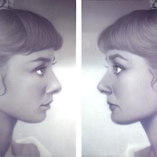 Audrey 2012  oil on canvas 259x388cm