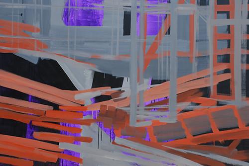 201409 2014 130.3x194cm acrylic and oil on canvas